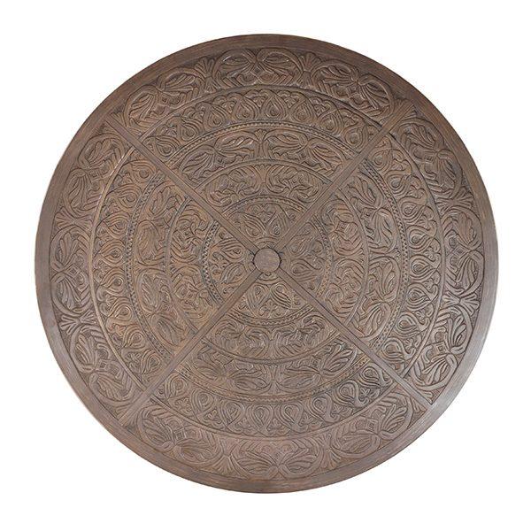 Castelle Romanesque cast aluminum table top