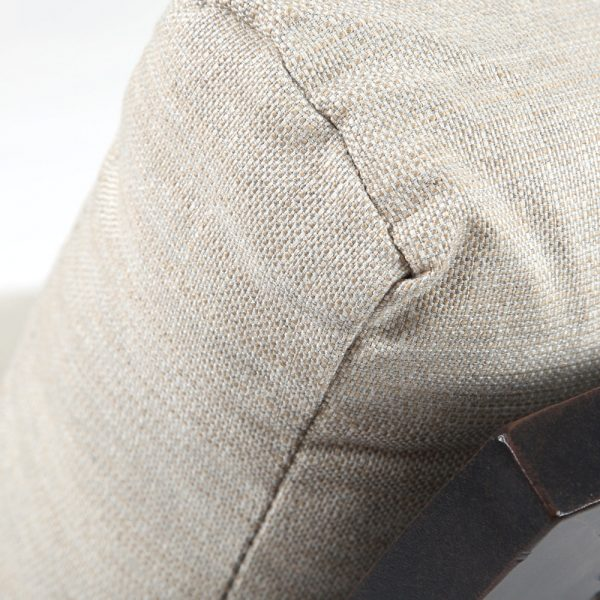 Mallin Sunbrella Rochelle Pebble fabric detail