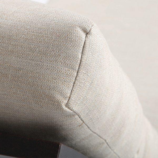 Mallin Sunbrella Rochelle Pebble fabric detail