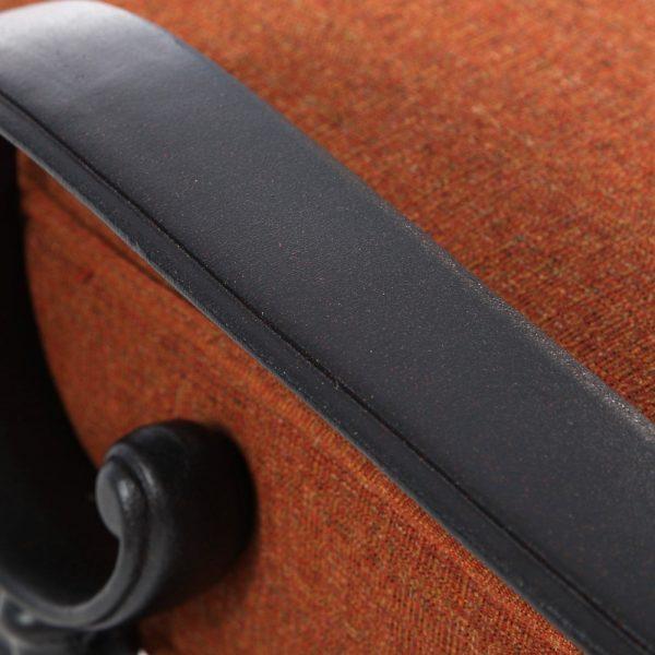 Alu-Mont Santa Barbara aluminum chaise lounge frame with Terra Mist powder coat finish