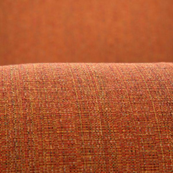 Alu-Mont Santa Barbara club chair with Sunbrella Linen Chili cushions
