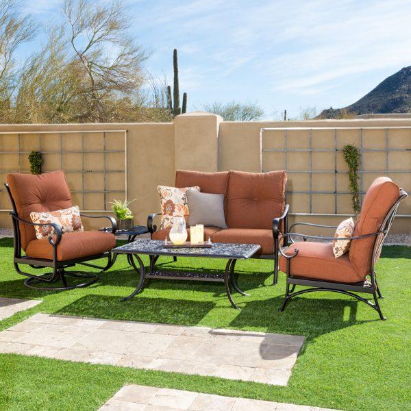 Alumont Santa Barbara outdoor aluminum patio furniture
