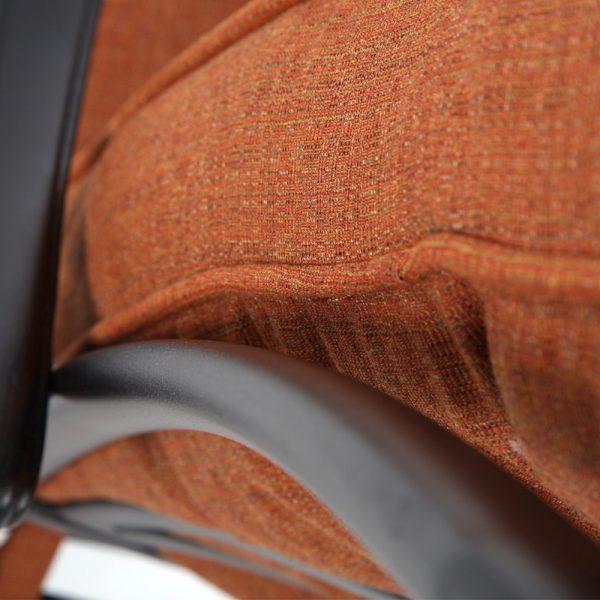 Alu-Mont Santa Barbara Linen Chili Sunbrella fabric detail