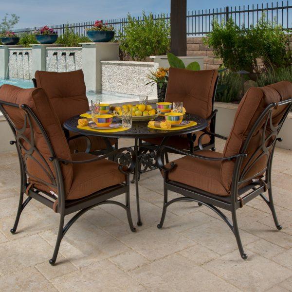 Santa Barbar outdoor dining furniture