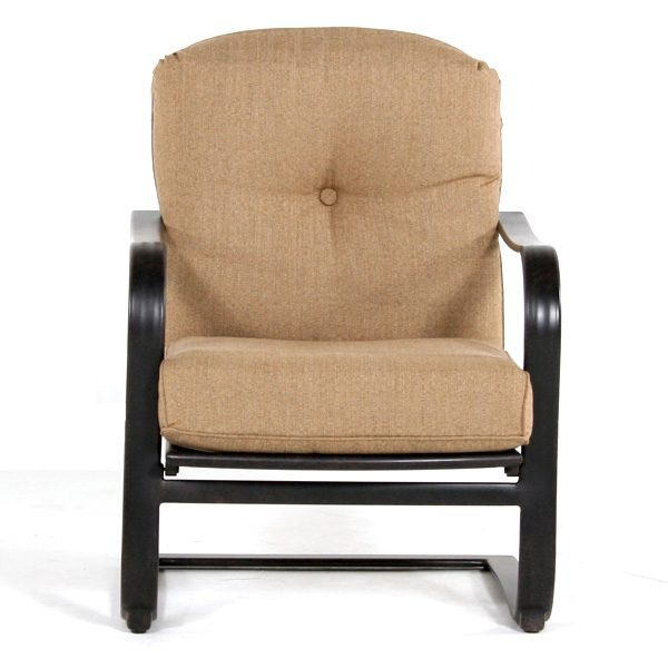 Heritage spring base club chair front view