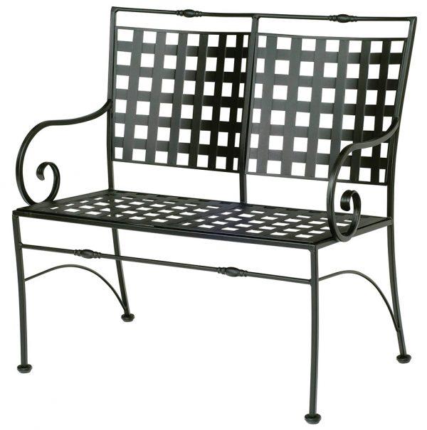 Woodard Sheffield bench frame