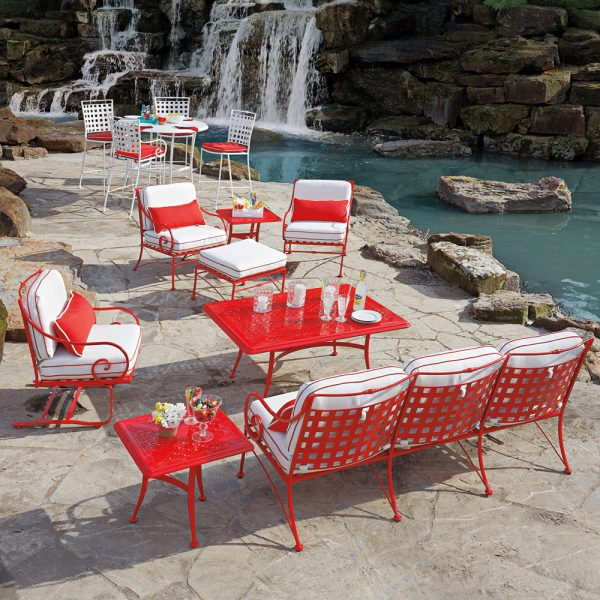 Woodard Sheffield outdoor furniture collection