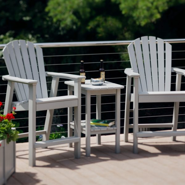 Seaside Casual shellback balcony chairs