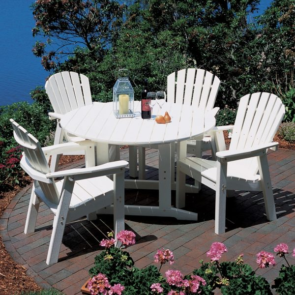 Adirondack Shellback dining chair set