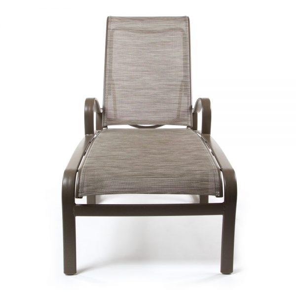 Tropitone Shoreline sling chaise lounge