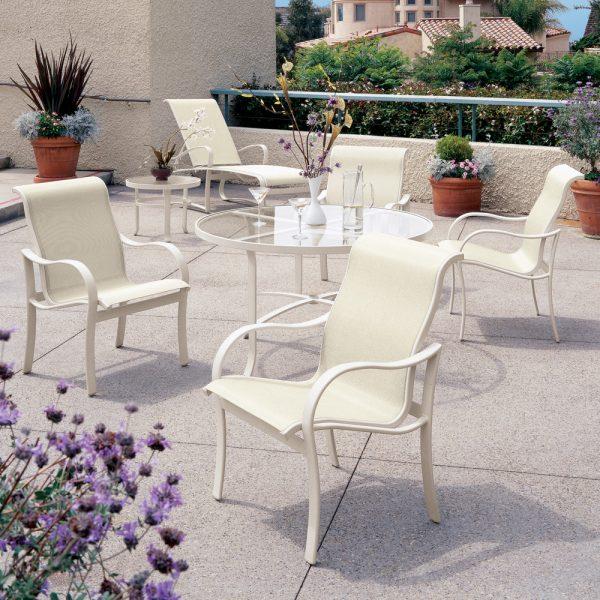 Tropitone Shoreline sling outdoor furniture