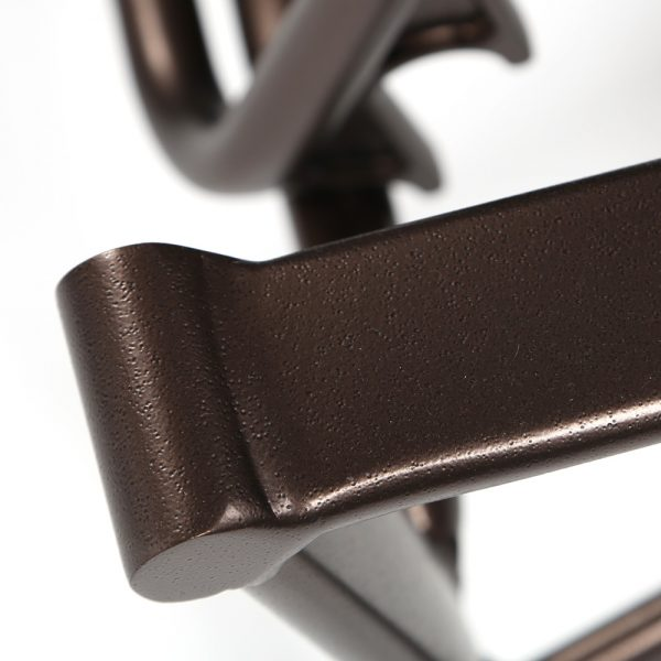 Tropitone aluminum sling recliner with a Espresso powder coat finish
