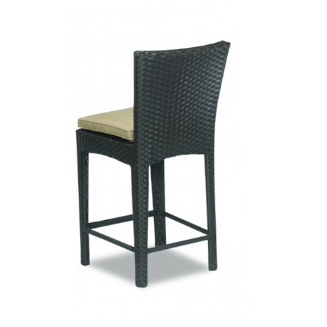 Solano counter stool back view