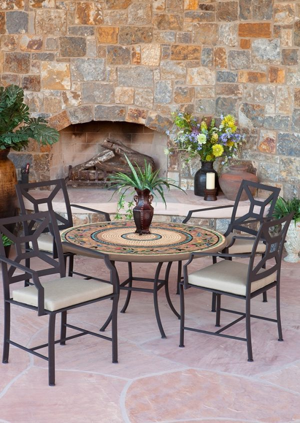 KNF - Neille Olson Sunrisa mosaic table