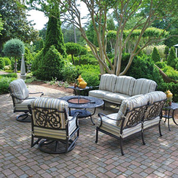 Hanamint St. Augustine luxury patio furniture