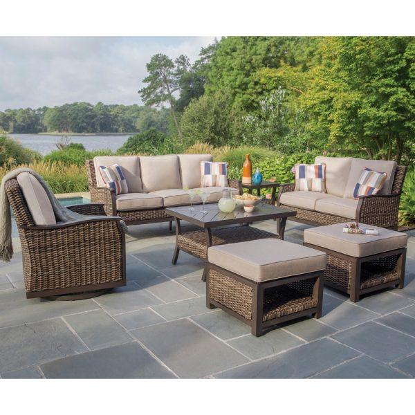 Agio Trenton woven patio furniture