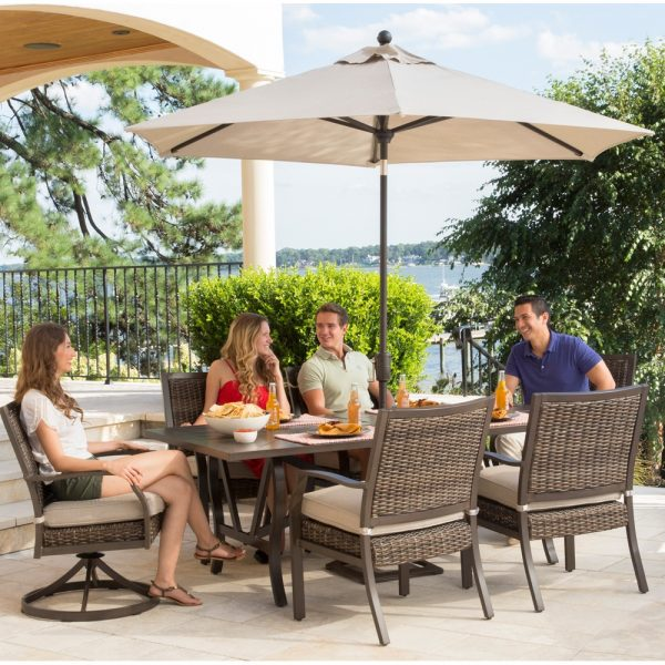 Trenton outdoor dining furniture from Agio