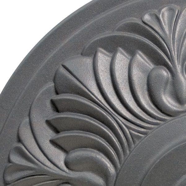 Umbrella base 50lb - Art Deco - anthracite top view close up