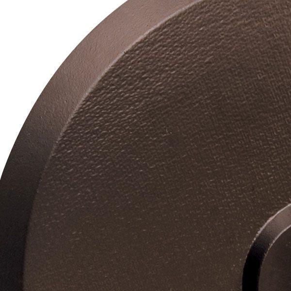 Umbrella base 50lb - Bronze top view close up