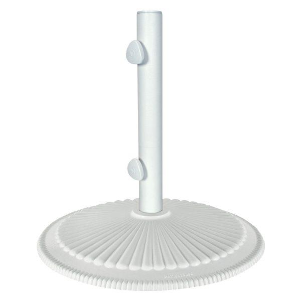 Umbrella base 50lb - Classic - White