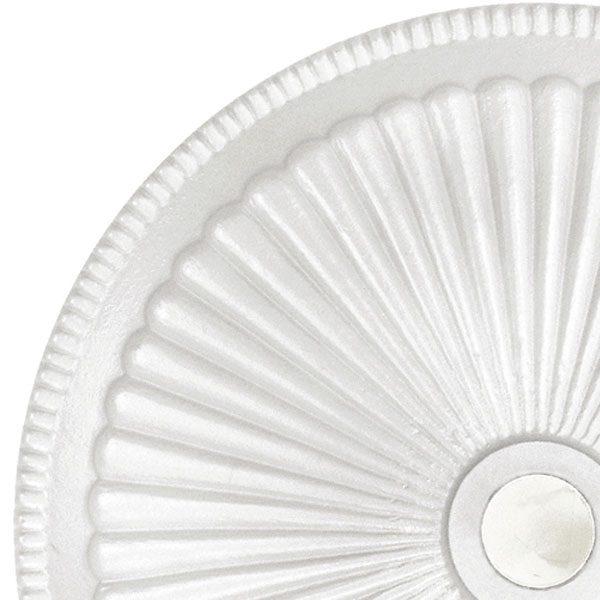 Umbrella base 50lb - Classic - White top view close up