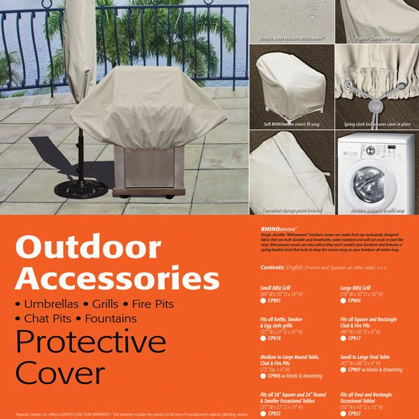 Treasure Garden Extra large umbrella cover