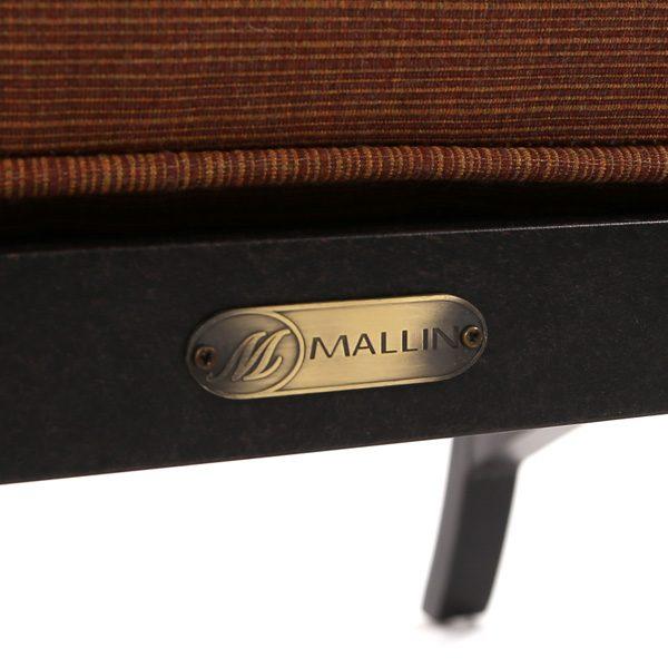 Mallin Volare aluminum frame with a Autumn Rust finish detail