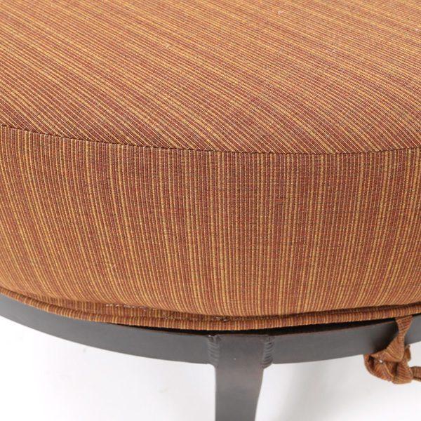Mallin Volare Sunbrella Fruitwood fabric detail
