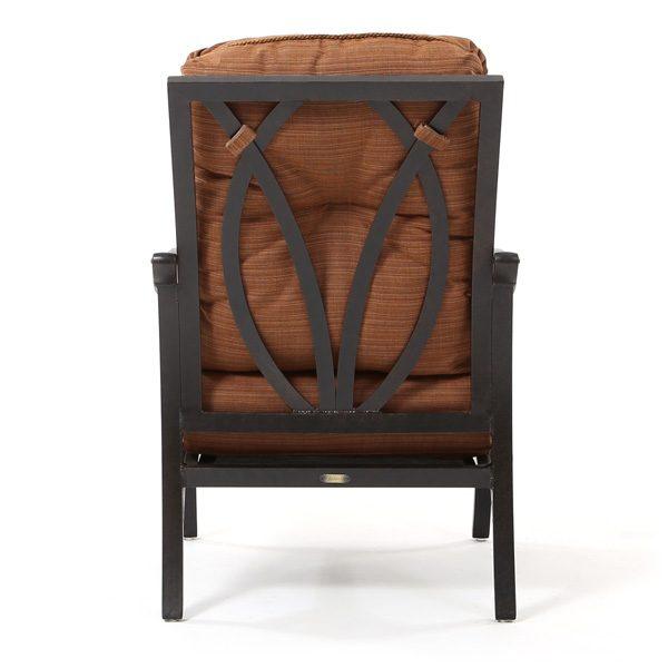 Mallin Volare club chair back view