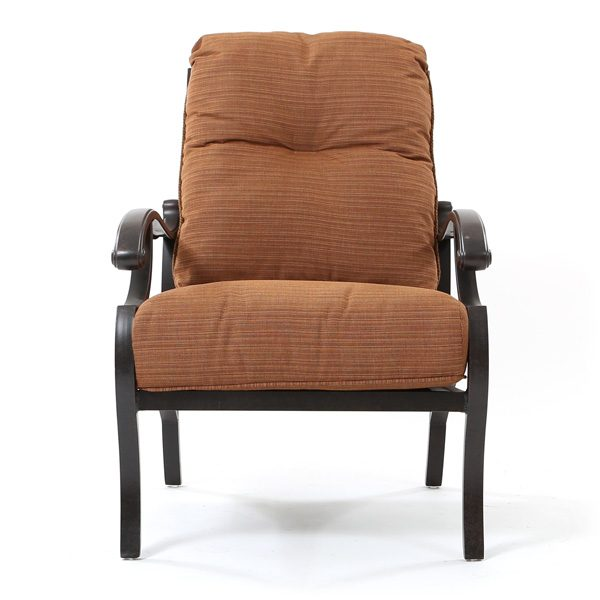 Mallin Volare outdoor club chair front view