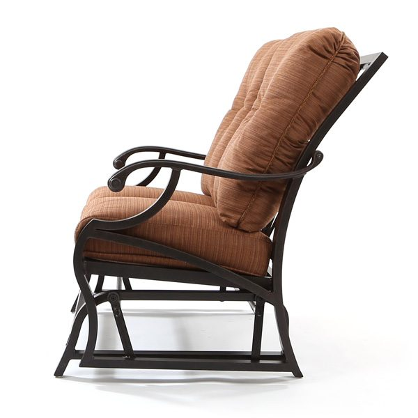 Volare outdoor double glider side view