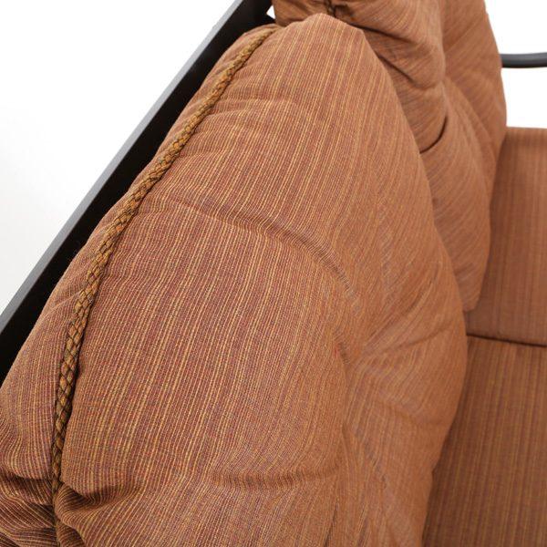 Mallin Sunbrella Fruitwood fabric detail