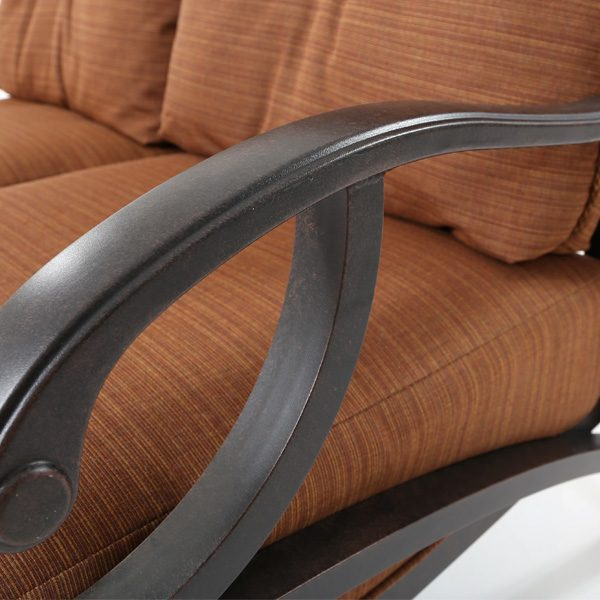 Mallin Volare Autumn Rust aluminum frame detail