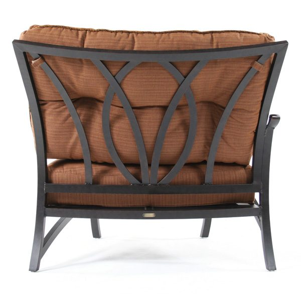 Mallin Volare right arm chair back view