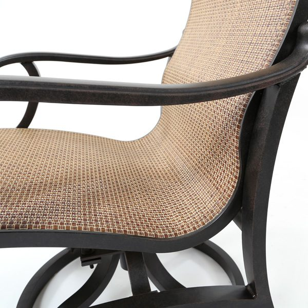 Mallin Volare Wicker Cordova fabric detail