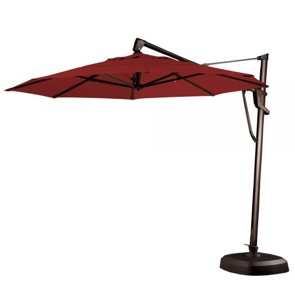 11 Octagon Cantilever Red