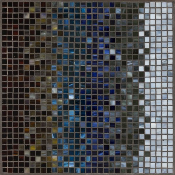 """Neille Olson modern top - 18"""" square Midnight Galena"""