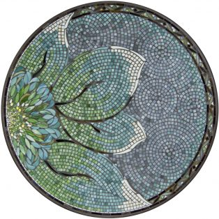 "Lovina 42"" round outdoor mosaic table top - Available in multiple sizes and shapes"
