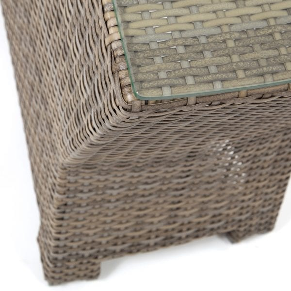 Cabo Wedge Table Wl Wicker