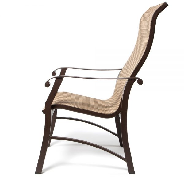 Cortland Sling Hb Dining Chair Side