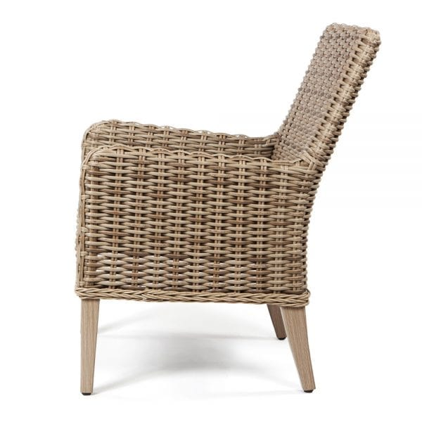 Laurent Dining Arm Chair Dw Side