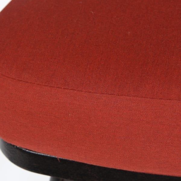 Mallin Armless Slat Back Barstool Chenna Fabric