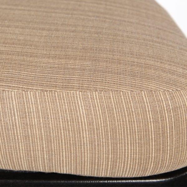 Mallin Armless Slat Back Barstool Dlatte Fabric