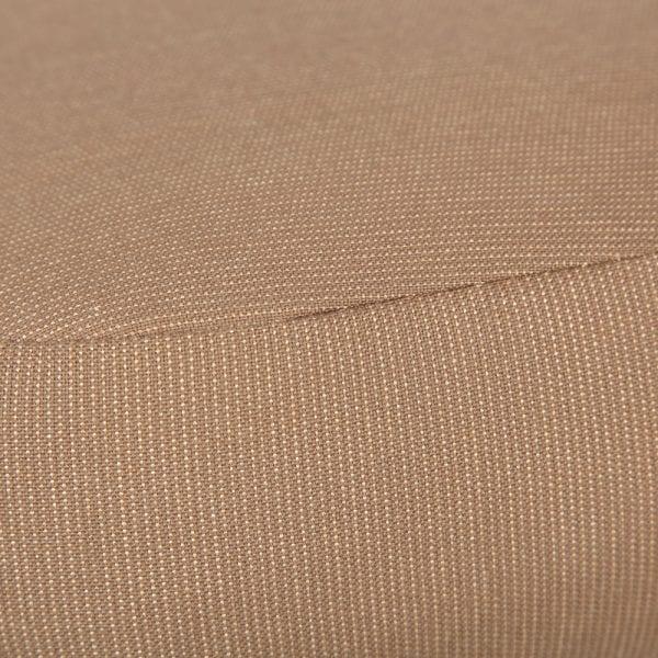 Mallin Armless Slat Back Barstool Scaribou Fabric