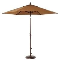 9' Market Umbrella with Amber Fabric