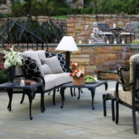 Add accessories to your outdoor patio furniture
