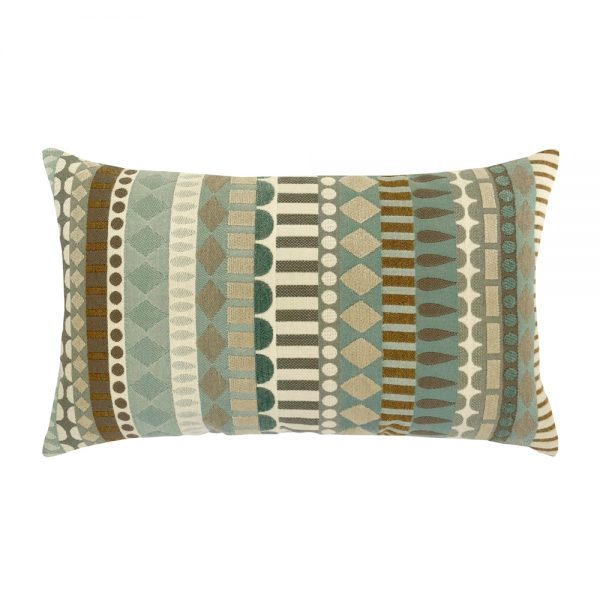 Elaine Smith Spa Deco designer lumbar pillow