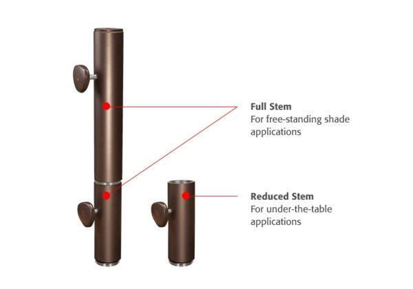 Dual-Purpose stem