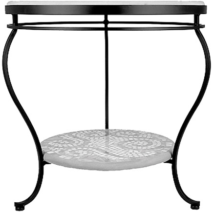 KNF - Neille Olson single or double tier round end table base
