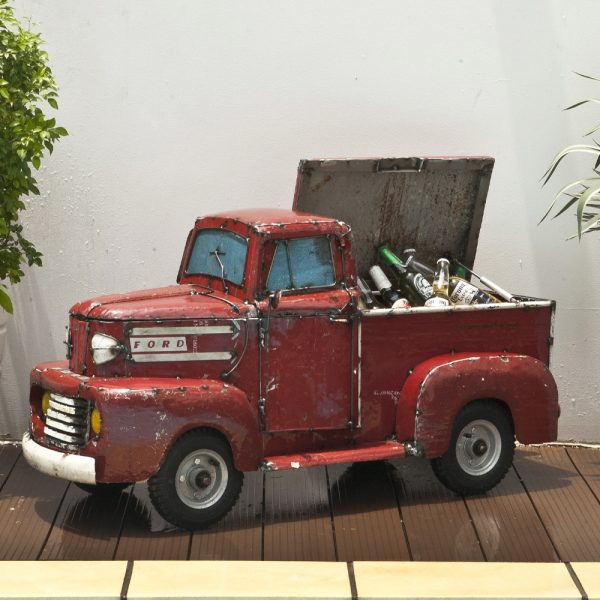 Metal For pick up truck cooler